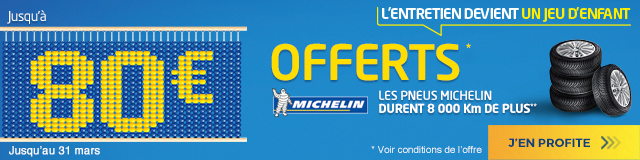 Michelin offre - Euromaster