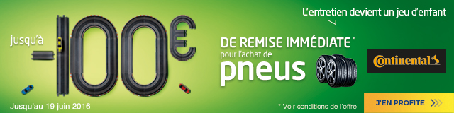offre pneus continental - Euromaster